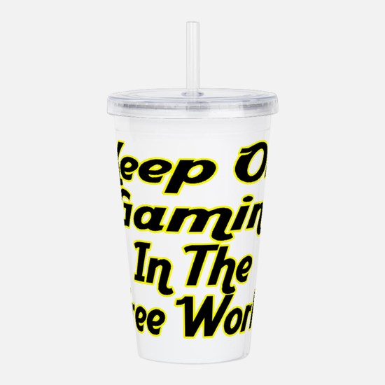 Free World Gaming Acrylic Double-wall Tumbler