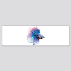 Double Tail Betta Bumper Sticker