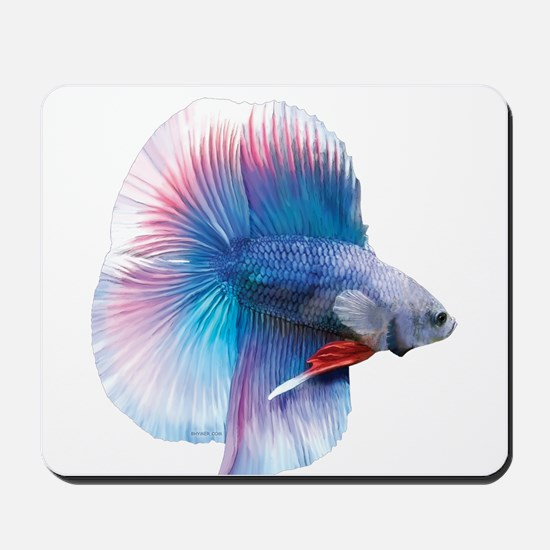 Double Tail Betta Mousepad