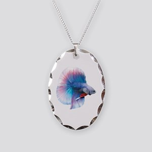 Double Tail Betta Necklace