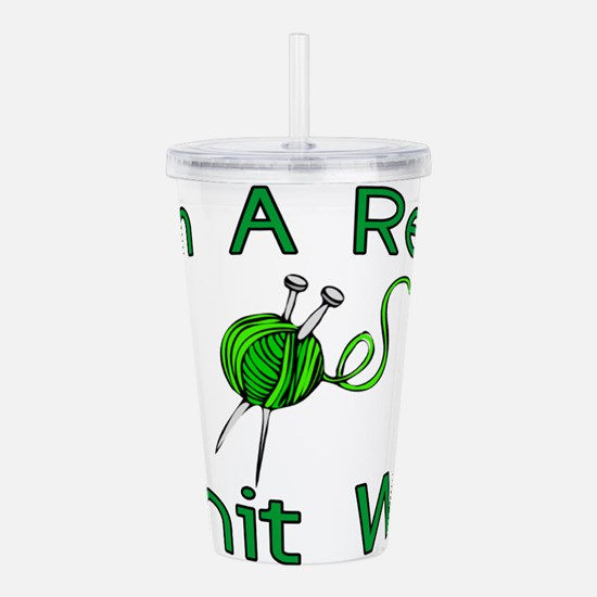 Knit Wit Acrylic Double-wall Tumbler