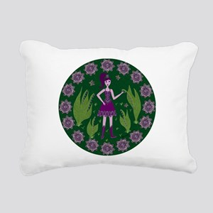 Amethyst Faerie Rectangular Canvas Pillow