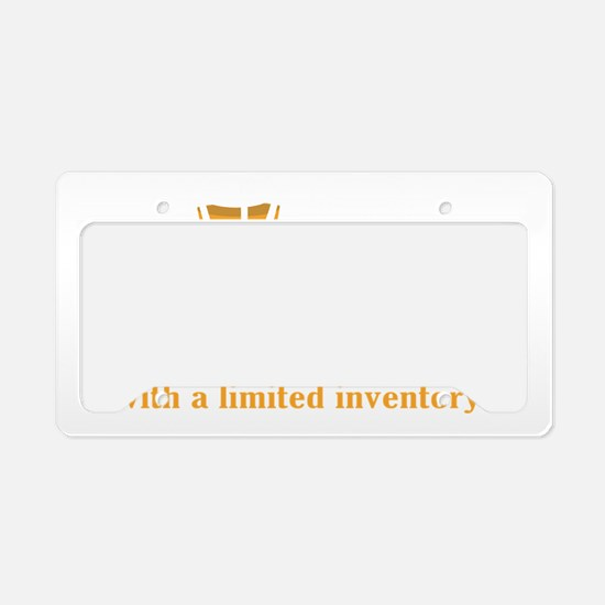 Cute Pharmacists License Plate Holder