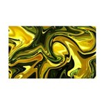 Naked Art Green Loses To Yellow 35x21 Wall Decal