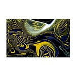 Naked Art Fish Invasion 35x21 Wall Decal