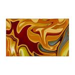 Naked Art Butterscotch 35x21 Wall Decal