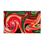 Naked Art Strawberry Mint 35x21 Wall Decal