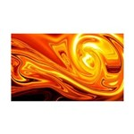 Naked Art Solar Storm 35x21 Wall Decal