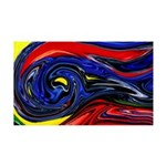 Naked Art Against The Wind 35x21 Wall Decal