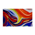 Naked Art Marbles 35x21 Wall Decal