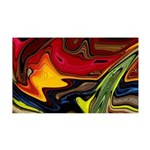 Naked Art Lava Confused 35x21 Wall Decal