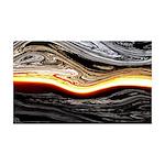 Naked Art Horizontal Heat 35x21 Wall Decal