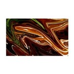 Naked Art Chocolate Mint 35x21 Wall Decal