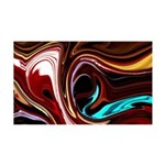Naked Art Red Vs. Burgundy 35x21 Wall Decal