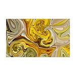 Naked Art Melting Marigolds 35x21 Wall Decal
