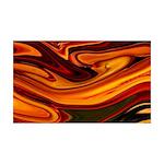 Naked Art Fluid Halloween 35x21 Wall Decal
