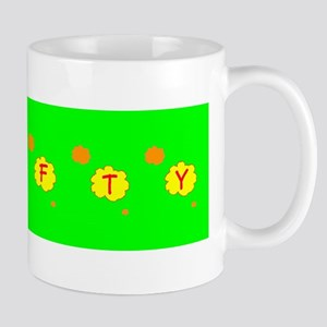 Crafty Crafter Green Floral Silhouette 28 Mugs