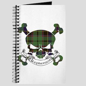 Stephenson Tartan Skull Journal