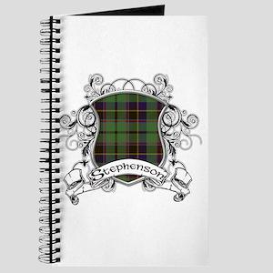 Stephenson Tartan Shield Journal