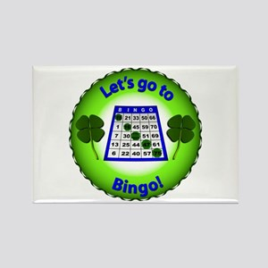 Let's go to Bingo! Magnets