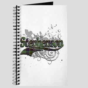 Stephenson Tartan Grunge Journal