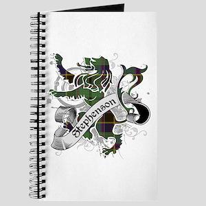 Stephenson Tartan Lion Journal