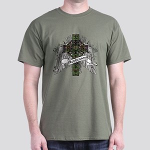 Stephenson Tartan Cross Dark T-Shirt