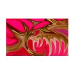 Naked Art Pink Roots 35x21 Wall Decal