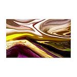 Naked Art Classic Iris 35x21 Wall Decal