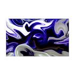 Naked Art Iris Blue 35x21 Wall Decal