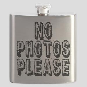 NO PHOTOS PLEASE. Flask