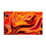Naked Art Orange Response 35x21 Wall Decal