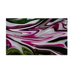 Naked Art Peppermint Petunias 35x21 Wall Decal