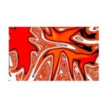 Naked Art Orange Invasion 35x21 Wall Decal