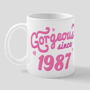 1987 Birth Year Gorgeous Mug