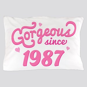 1987 Birth Year Gorgeous Pillow Case