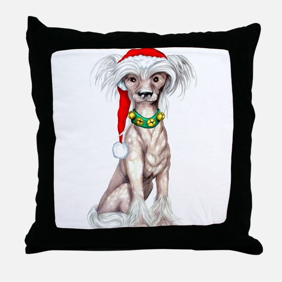 Cresty Claus Throw Pillow