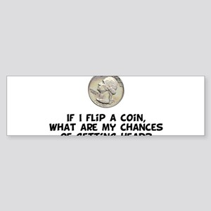 Flip a Coin Bumper Sticker