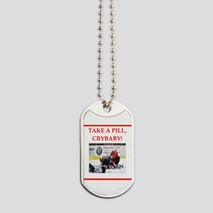 hockey Dog Tags