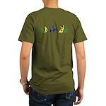 Capoeira Organic Men's T-Shirt (dark)