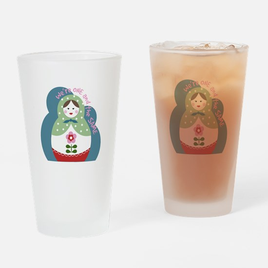 One And The Same Drinking Glass