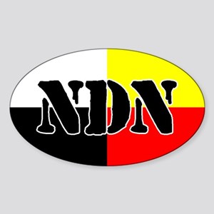 NDN Oval Sticker