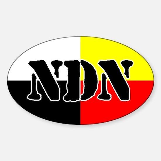 NDN Oval Decal