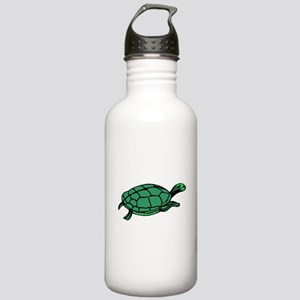 Green Turtle Water Bottle