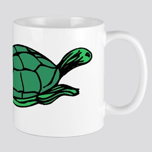 Green Turtle Mugs