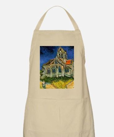 Van Gogh Church at Auvers Apron