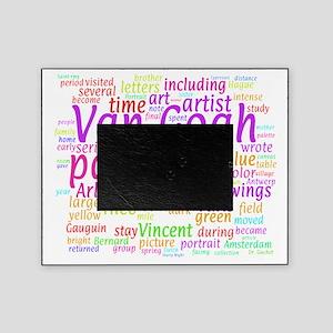 Van Gogh Word Cloud Picture Frame