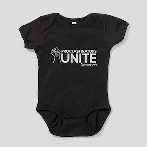 Procrastinators UNITE (tomorrow) Baby Bodysuit