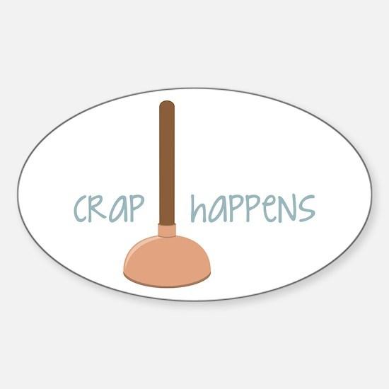 Crap Happens Decal