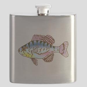 Colorful Sunfish Flask